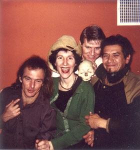 Webaworld & Puttanesca: Ralph, Weba, Wayne and Joe