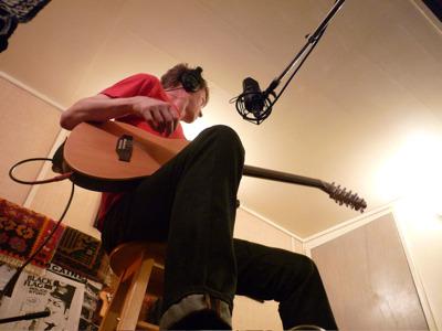 Nels Cline at Catasonic Studios