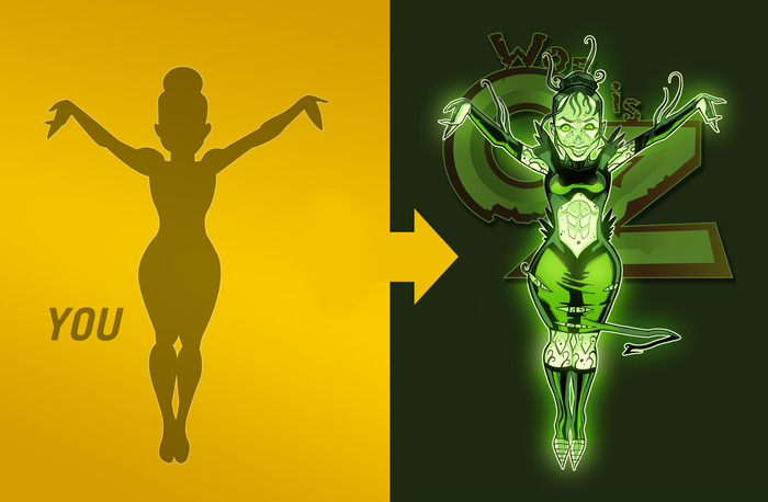 Be a character in the series Woe Is Oz! (Disclaimer: Will not be character pictured)