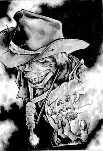 """THE MEGA SKETCH"" example: The Scarecrow"