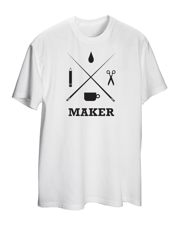 Grey Maker T shirt