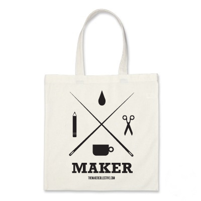 Maker printed totebag