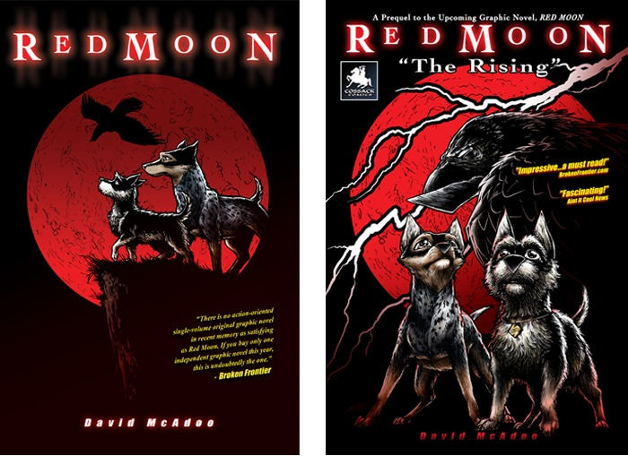 Red Moon graphic novel and Red Moon: The Rising prequel