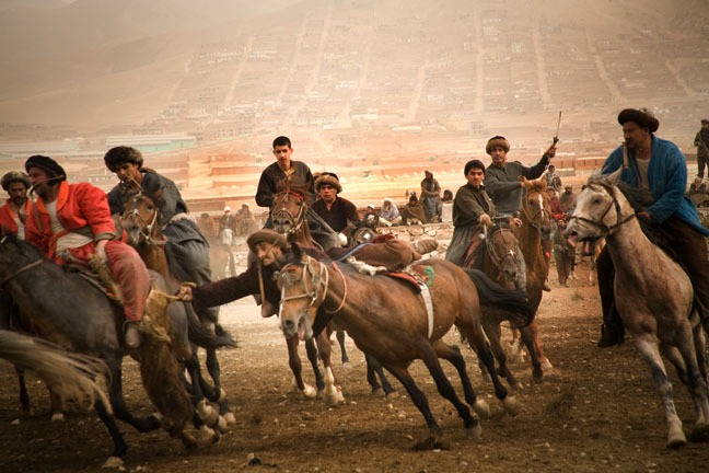 The passion of Afghanistan's national sport, buzkashi.  Tony Di Zinno