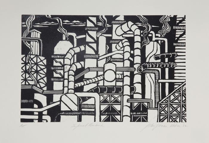 """""""Infernal Machine""""  by John Pitman-Weber"""