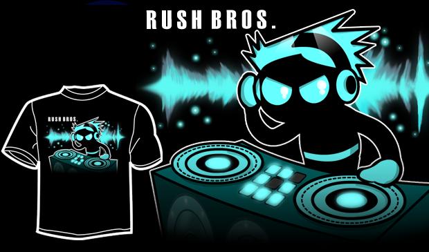 Blue DJ T-Shirt