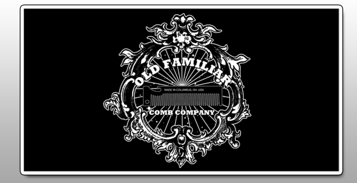 Old Familiar Comb Project Limited Edition Sticker
