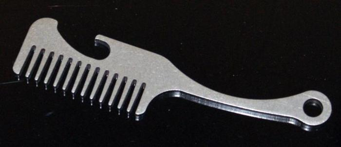 Old Familiar Comb Project Beard and Mustache Comb