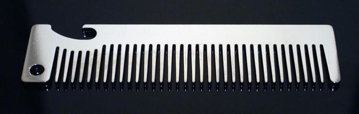 Full Size Bottle Opener Comb