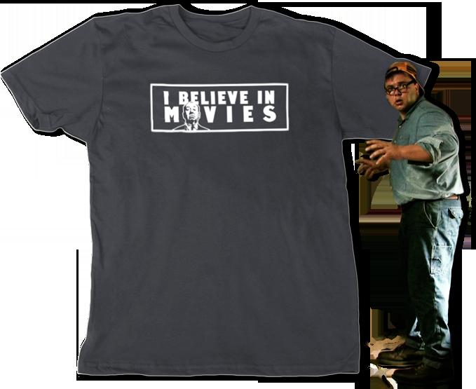 Telepathic Junk-man, Everett Samsa got a shirt for donating!