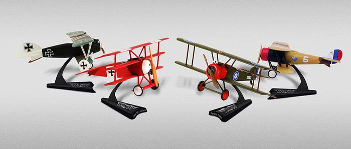 Prize: WWI miniature planes set (artistic rendition, subject to change)