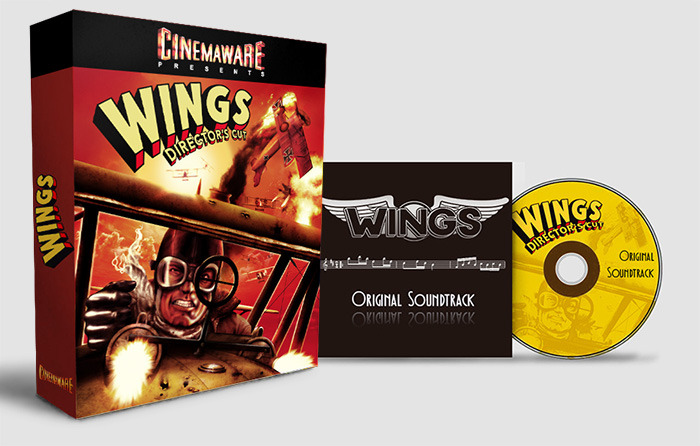 Prize: game box & remastered soundtrack (artistic rendition, subject to change)