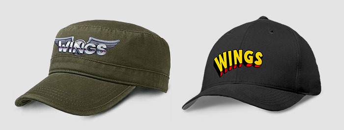 Prize: Wings logo caps (artistic rendition, subject to change)