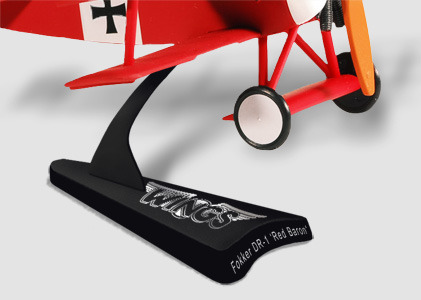 Prize: miniature planes stand detail (artistic rendition, subject to change)