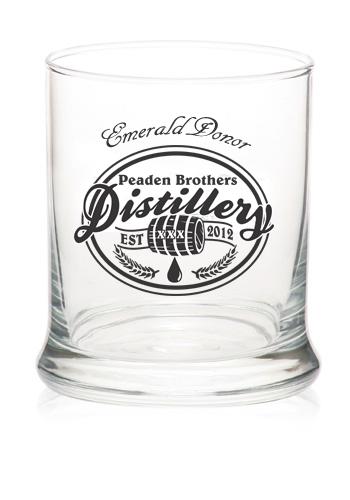 Peaden Brothers Distillery Emerald Donor Glass