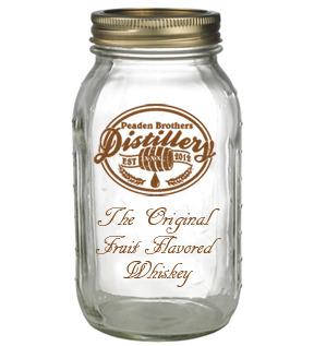 Peaden Brothers Distillery Empty Whiskey Jar