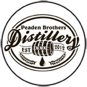 Peaden Brothers Distillery Sticker