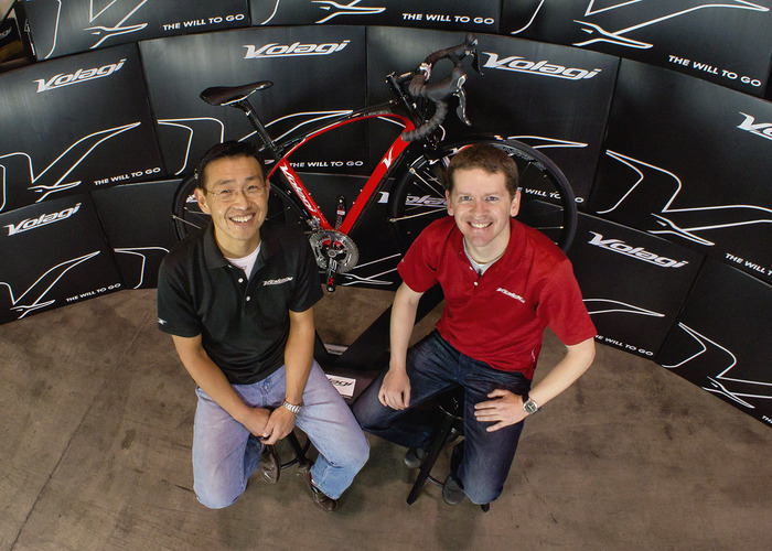Volagi co-founders Robert Choi and Barley Forsman