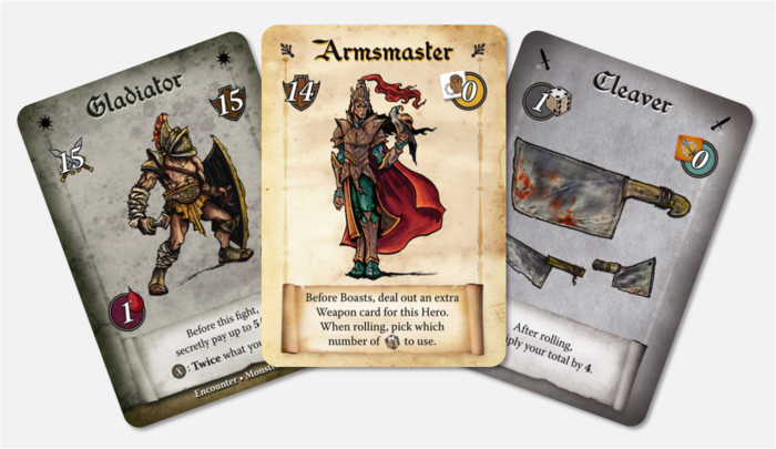 Promotional Encounter, Class and Weapon cards