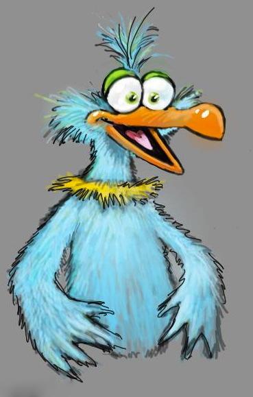 Luckl-Duckl Bird