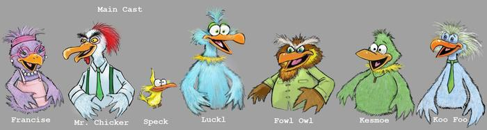"""Bird Call"" Cast"
