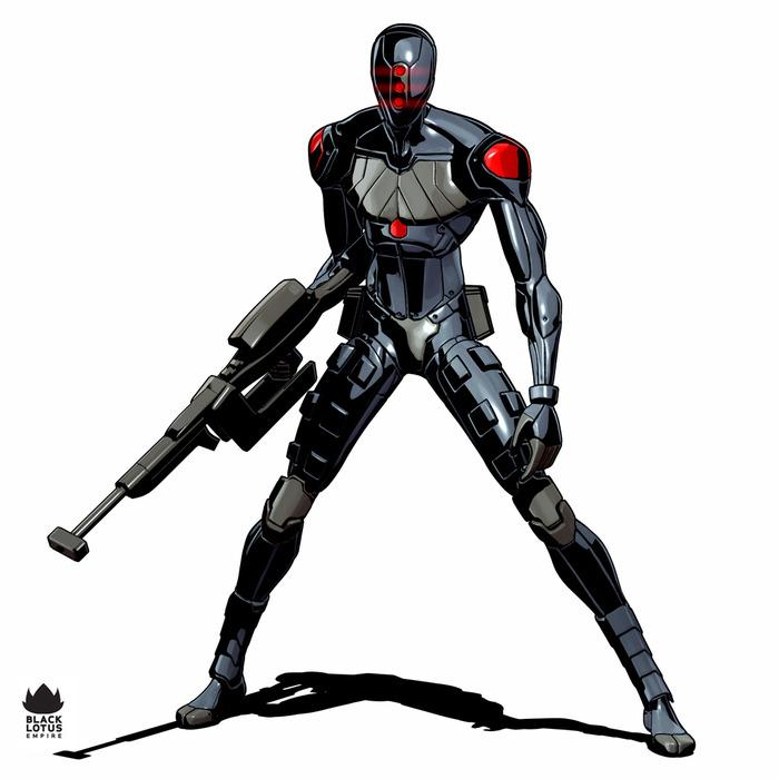 "Type 9 ""Black Lotus"" Light Combat Uniform. Image by Jeff Miller"