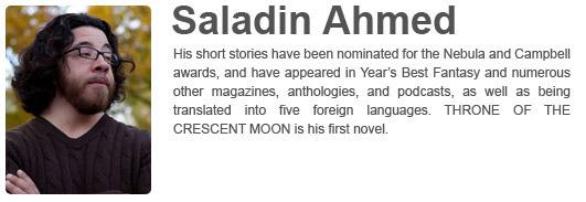 Saladin Ahmed's Website