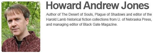 Howard Andrew Jone's Website