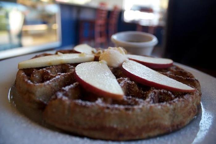 A.N.D Vegan & Gluten Free Blue Corn Waffle