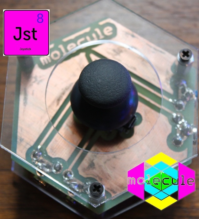 Joystick - whheeeeeeee!  Note: this can control two inputs simultaneously!