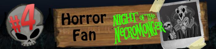 Level 4: Horror Fan
