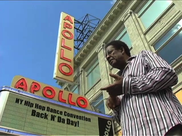 Harlem, NY - Harlem Organist Seleno Clarke talks about great organists who have played at the Apollo Theater during a tour of the once thriving Hammond Organ music scene in Harlem.