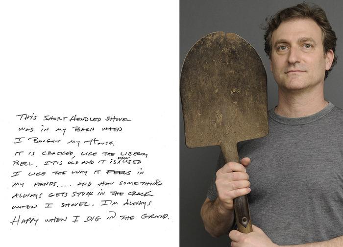 Scott and his shovel
