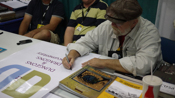 Tim Kask, our very first signator on the Dungeons & Dragons: A Documentary Banner