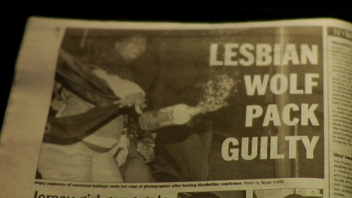 Daily News headline following the convictions.