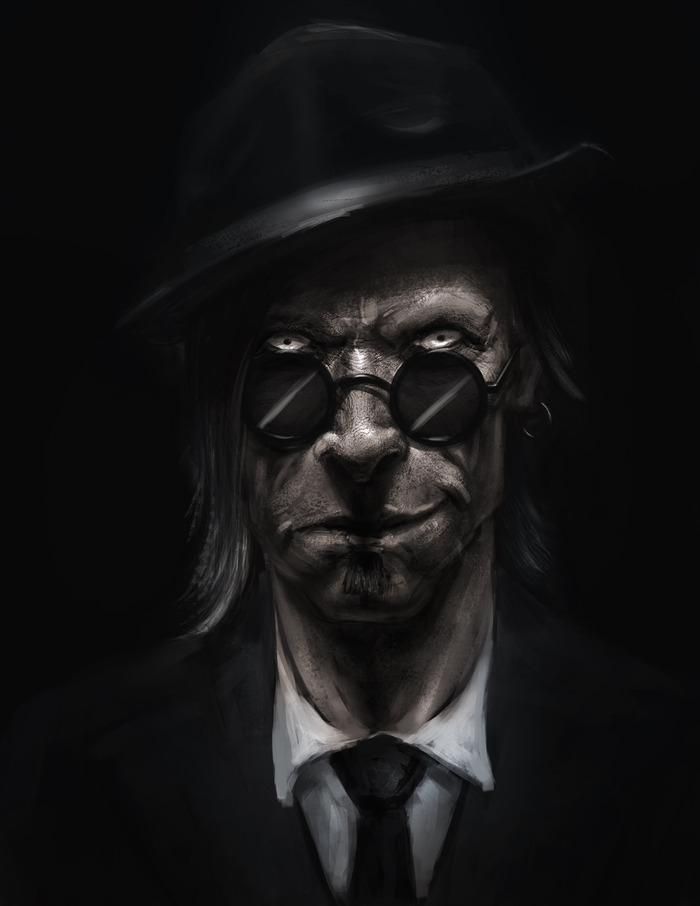 Templeton Spitz - Digital Portrait
