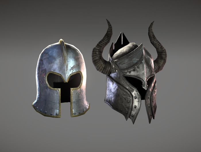 Exclusive Legendary Helmets remade based on Age of Chivalry originals