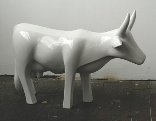 Cow, Industrial porcelain