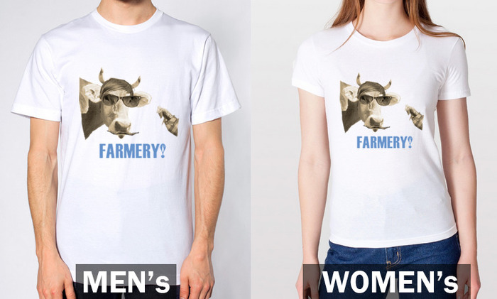 T-shirts to show your support for urban farming