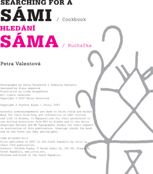 Searching for a Sami / Cookbook