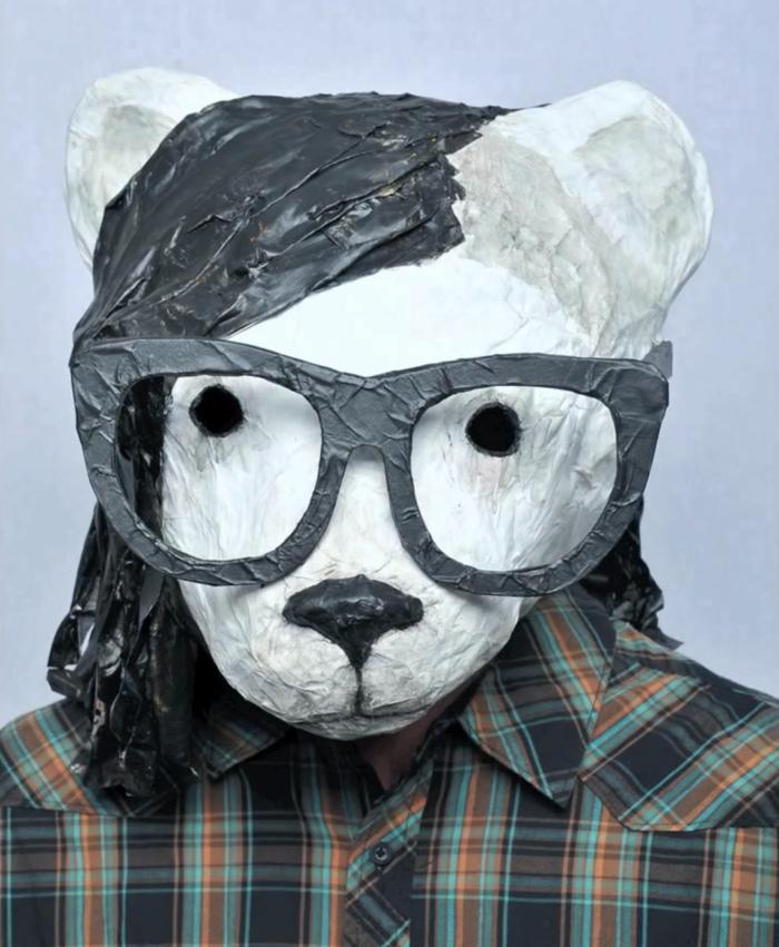 """Skrillex Bearhead from """"Girl, You Got Skrillex Hair"""" video"""