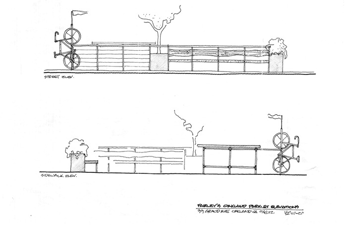 Farley's Community Parklet Elevations