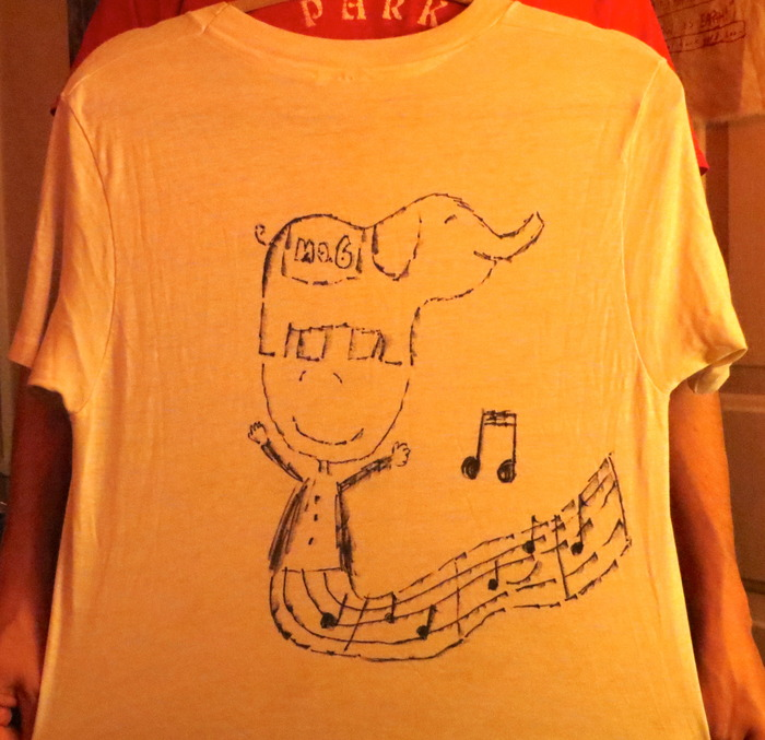 New Reward - Just Added! -----  Hand Drawn T Shirts by Julian