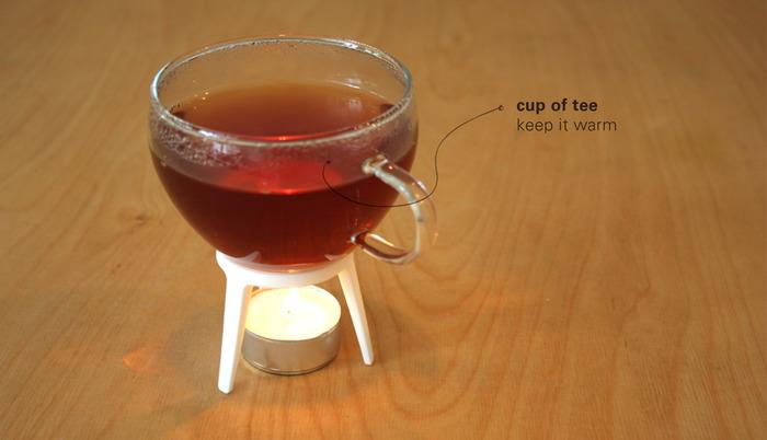 rocket as a teapot-warmer