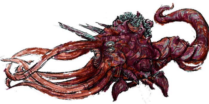 Sea monster!