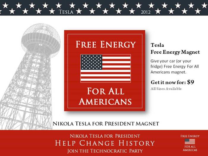 Free Energy For All Americans magnet.