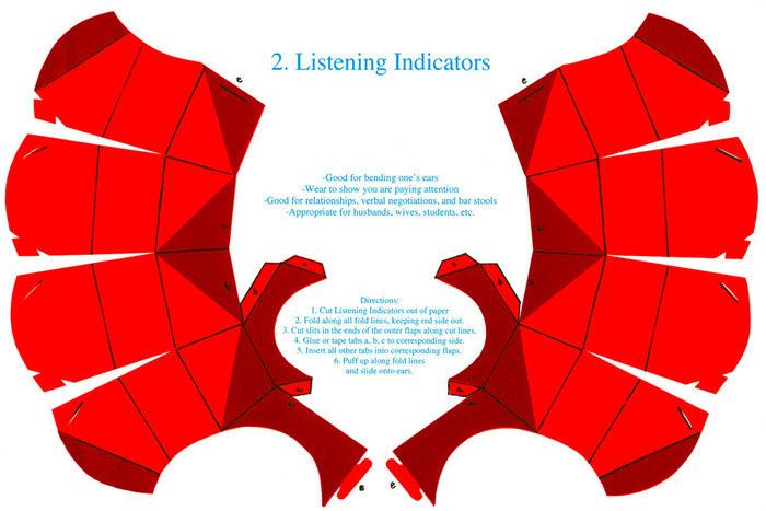 Listening Indicators: Original Screen Print by Jessica Frelinghuysen