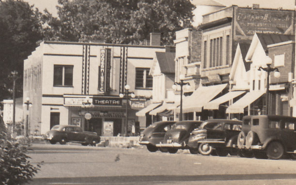 Onarga Theater in the 1940's then called the Modernistic