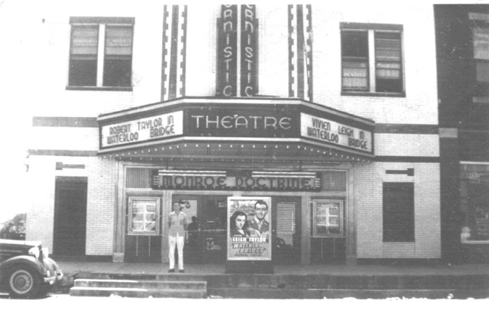 1940 photo then called the Modernistic the theater was only 3 years old