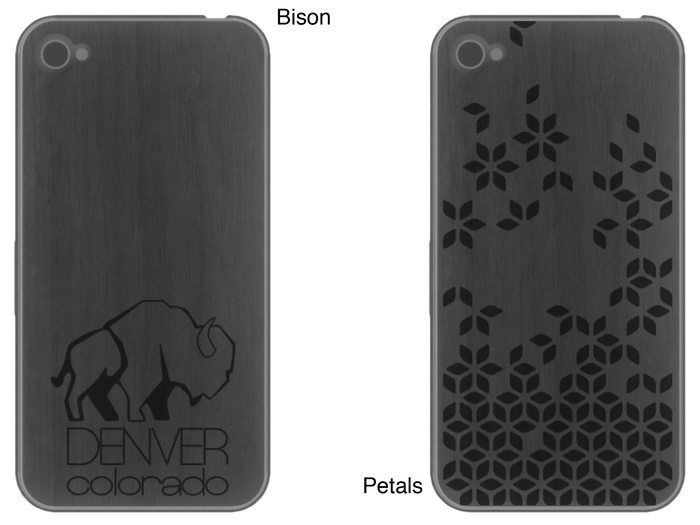 Pictured: the 2nd set of designs from Robyn Meier. Custom skins can have these or you can send us your own image.
